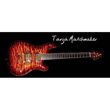 Custom Built TM Flame Maple Top Guitar