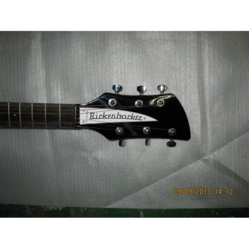 Custom Shop Rickenbacker 325C64 21 Inch Scale Length Jetglo Guitar
