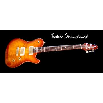 Custom Built EM Standard Flame Maple Top Guitar