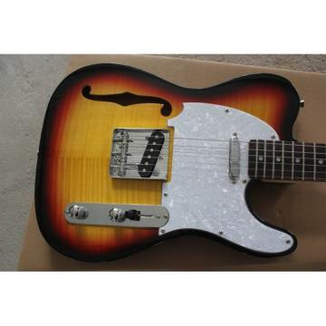 Fender Telecaster 6 Strinsg Sunset Semi Hollow Guitar