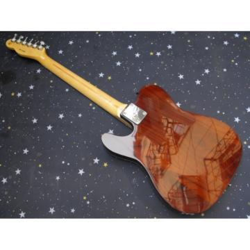 Fender Natural Wood Telecaster Guitar
