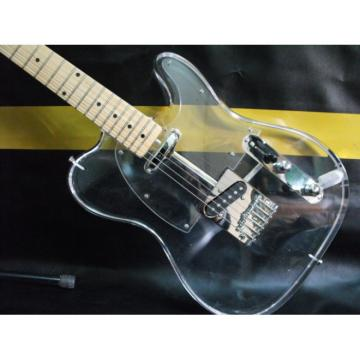 Custom Shop White Fender Acrylic Telecaster Guitar