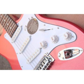 Custom Shop Jimmie Vaughan Red Fender Stratocaster Guitar