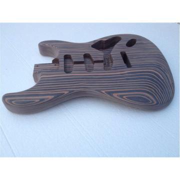 Custom Shop Fender Unfinish Builder Guitar Zebra No Painting