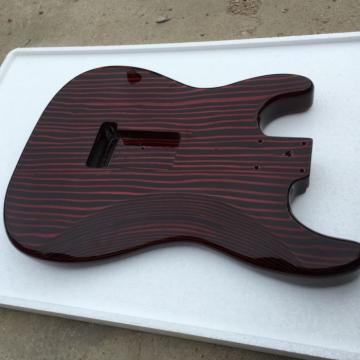 Custom Shop Fender Unfinish Builder Guitar Zebra