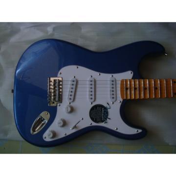 Custom Blue Fender Stratocaster Guitar