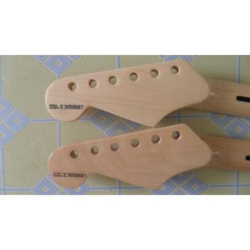 2 Pcs Maple Fender Strat Unfinished Fretboard