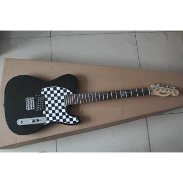 Custom Fender Black Checker Board Telecaster Avril Lavigne Guitar