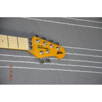 Custom Shop Music Man Ernie Ball Sunburst 6 String Guitar Axis
