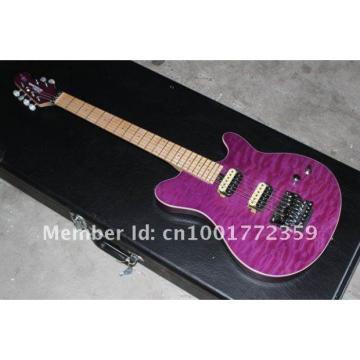 Custom Shop Music Man Ernie Ball Custom Purple 5 String Guitar