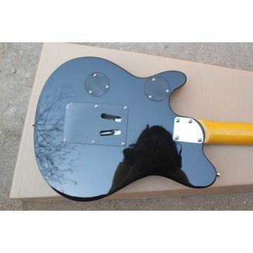 Custom Shop Music Man Ernie Ball Custom Orange 6 String Guitar Axis