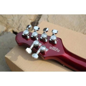 Custom Shop Music Man Ernie Ball Custom Burgundy 6 String Guitar