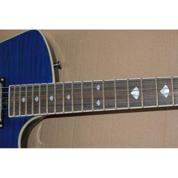 Custom Shop Music Man Blue Black Armada Ernie Ball Guitar
