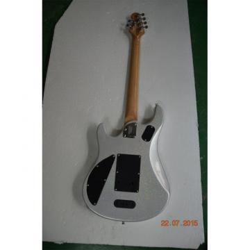 Custom Music Man John Petrucci Ernie Ball JP6 Metallic Silver Gray Guitar