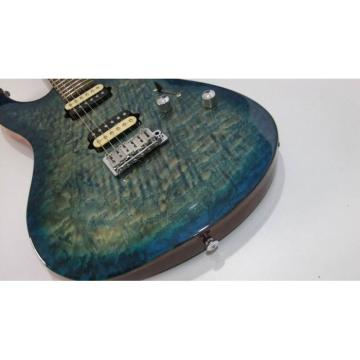Custom Shop Suhr Flame Maple Top Blue Alder Body Walnut Neck Guitar