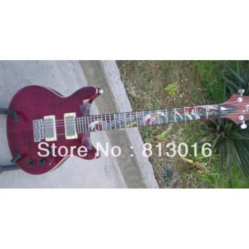 Purple PRS Paul Reed Smith Private McCarty Violin Guitar