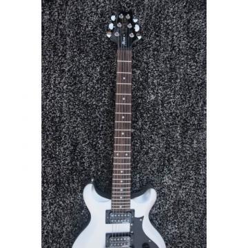 Custom Shop 24 Frets Paul Reed Smith Mira Silver Guitar
