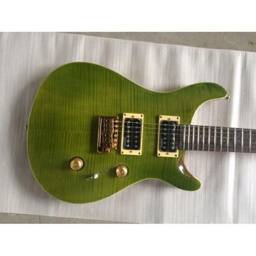 Custom PRS Paul Reed Smith Green Flame Maple Top Guitar