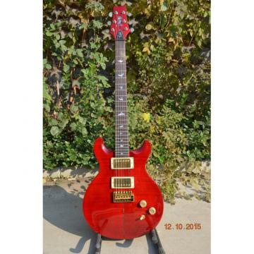 Custom 24 Frets Paul Reed Smith Red Flame Maple Top Guitar