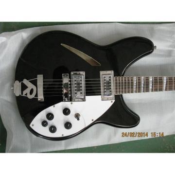 Custom Shop Right Handed Rickenbacker Jetglo 360 Guitar