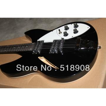Rickenbacker 381 Black Bigsby 3 Pickups Guitar