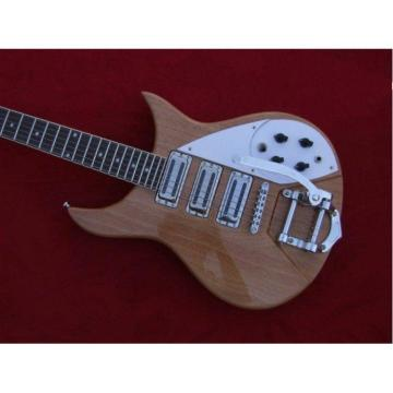 Custom Shop Natural Rickenbacker 330 3 Pickups Guitar