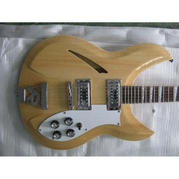Custom Shop Rickenbacker Natural 330 Guitar