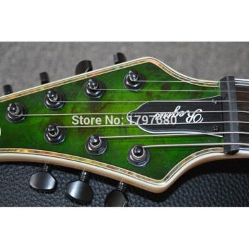 Custom Built Regius 7 String Transparent Green Mayones Guitar Japan Parts