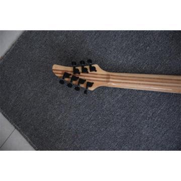 Custom Built Setius GTM 7 Gothic Figured Red and Black Ash Top Mayones Guitar Japan Parts Katatonia