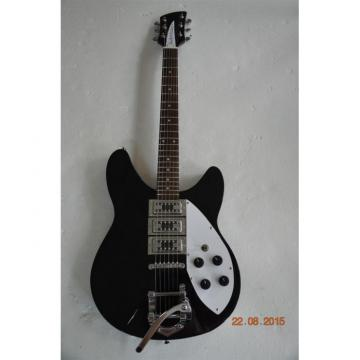 Custom Shop Rickenbacker 360 Black Guitar