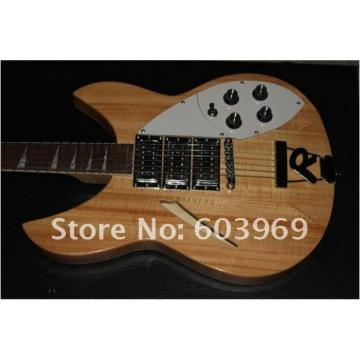 Custom Shop Rickenbacker 330 Natural Wood Guitar