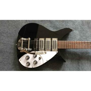 Custom Shop Rickenbacker 381 Jetglo Authorized Bigsby Guitar