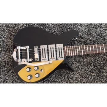 Custom Shop Rickenbacker 325 Jetglo John Lennon Guitar Gold Pickguard
