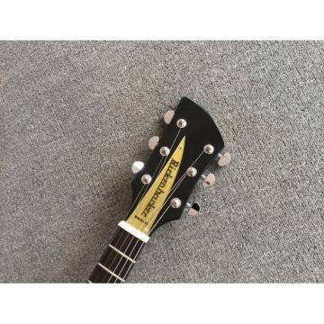 Custom Shop Rickenbacker 325 Jetglo John Lennon Left Handed Guitar 21 inch scale lenght