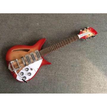 Custom Shop Fhole Rickenbacker 325C64 21 Inch Scale Length Fireglo Guitar