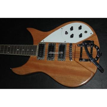 Custom Shop Rickenbacker 3 Pickups Natural Guitar
