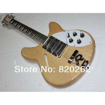 Custom Shop 12 String Rickenbacker Natural Glow 330 Guitar