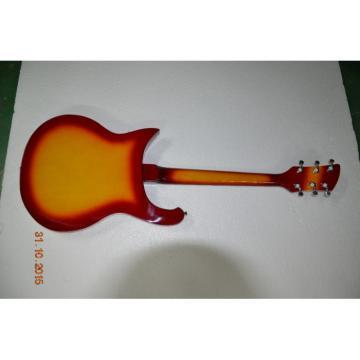 Custom Rickenbacker 620 6 Strings Sunburst 2 Pickups Guitar