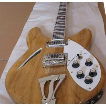Custom Rickenbacker 360 Natural Mono and Stereo Guitar