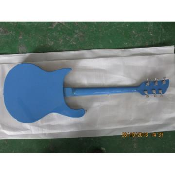 Custom Rickenbacker 620 6 Strings Blue 2 Pickups Guitar
