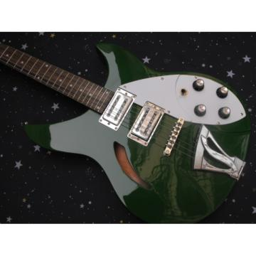 Custom George Beauchamp Rickenbacker 330 Green Guitar