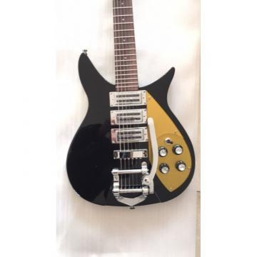 Custom Rickenbacker 325 Jet Black John Lennon Guitar