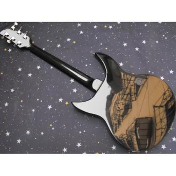 Custom George Beauchamp Rickenbacker 330 Black Guitar