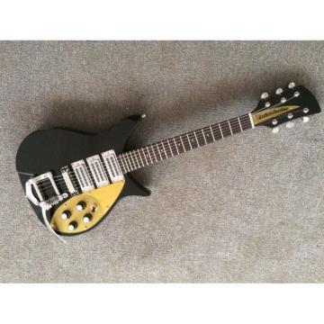 Custom Built Rickenbacker 325 Jetglo John Lennon Guitar 21 inch Scale Lenght