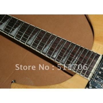 Custom 3 Pickups Rickenbacker 330 Natural Guitar
