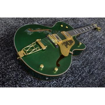 Custom Shop The Goal Is Soul Gretsch Metallic Green Jazz Guitar