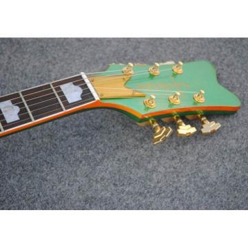 Custom Shop The Goal Is Soul Gretsch Green Jazz Guitar