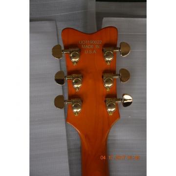 Custom Shop Orange Falcon Gretsch 6 String Electric Guitar
