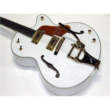 Custom Shop Gretsch White Nashville Guitar