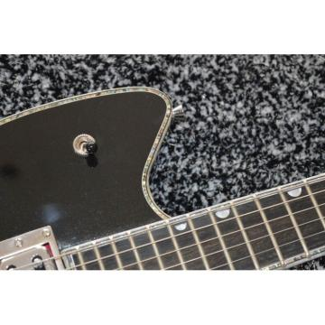 Custom Shop Gretsch G6199 Billy-Bo Jupiter Thunderbird Metallic Black Guitar